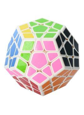 Кубик 0934C-5 QiYi X-Man Megaminx (Plane White-Base)8см, в кор-ке, 9,5-7,5-13,5см