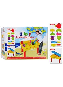 Песочница-столик М 0831леечка, инструменты, пасочки