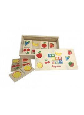Деревянная игрушка Домино MD 0017-1 в пенале,15,5-4-9см