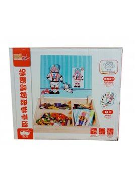 Деревянная игрушка Гардероб MD 1339