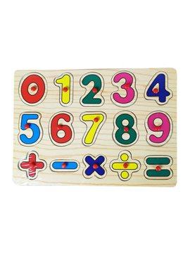 Деревянная игрушка Рамка-вкладыш MD 0646