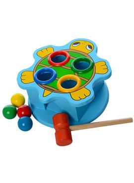 Деревянная игрушка стучалка MD 0045