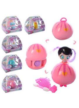 "Кукла ""K"" LM2720 микс видов,куколка-сюрприз,сумочка превращается в куклу,кор. 12*7*12см"