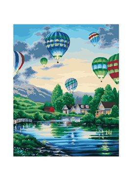 """Картина по номерам """"Воздушные шары 2 """"KHO2221"""