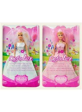 """Кукла """"Defa Lucy"""" 6091невеста."""