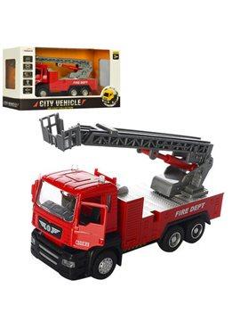 Пожарная машина 5002 инер-я,металл,1:50, 16см, зв,св,бат(таб),в кор-ке,22-12-9см