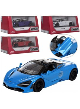 Машинка KT5403W (McLaren 720S) металл, инер-я, 12см, открыв. двери, 4цвета, в кор-ке,16-8-7,5см