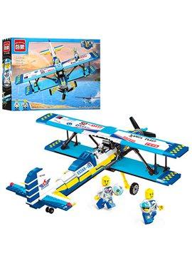 Конструктор BRICK 1125 самолет, фигурки, 354дет