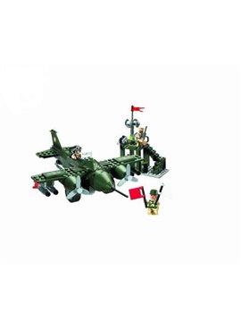 Конструктор BRICK 810 истребитель, 225 дет, в кор-ке, 28-19-4,5см