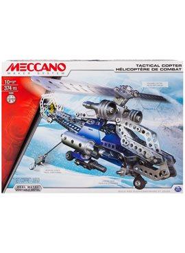 Конструктор Меккано Вертолёт 6024816 в коробке 11,81*15,75*2,36 см