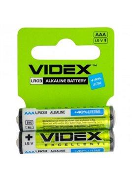 Батарейка щелочная Videx LR3 AAA