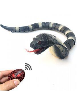 Животное на р/у 8808-A (Синяя) змея,пульт,движ, в коробке ,39*3,5*8см