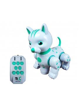 Животное 9873 (Собака) р/у,19см,сенсор,муз,зв(англ),св,ездит, бат, в кор,29-23-15см