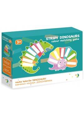 Настольная игра DoDo Изучаем цвета Динозаврики 300138