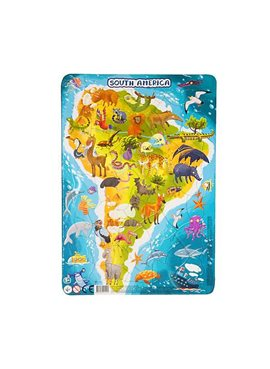 "Пазл DoDo в рамке ""Южная Америка"" R300178"