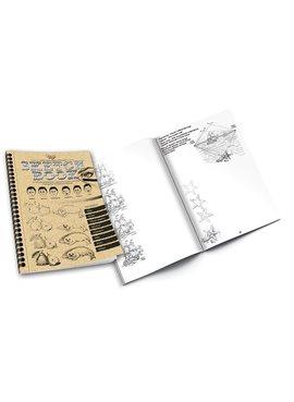 Комплект креативного творчества SKETCH BOOK укр. 6628DT