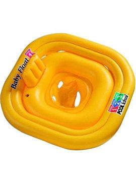 Плотик 56587 желтый, 79-79см, в кор-ке, 26-20-6см