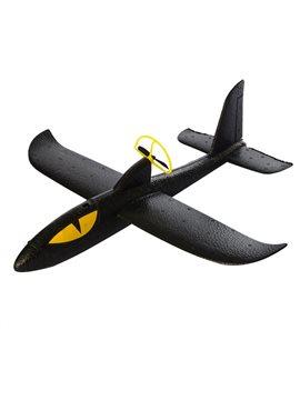 Самолет A0006007Black, 36см, пенопласт, аккум, винт, зарядное(раб.от бат),в кор-ке,38-12,5-4см