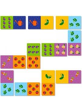 Игра DoDo Домино Овощи 300249 DoDo Toys