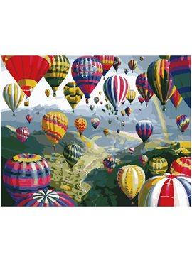 """Картина по номерам. Brushme """" Разноцветные шары """" GX6524 40*50"""