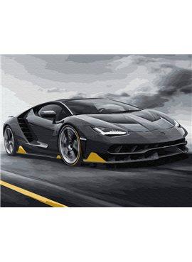 """Картина по номерам. Brushme """"Lamborghini"""" GX29808 40*50"""
