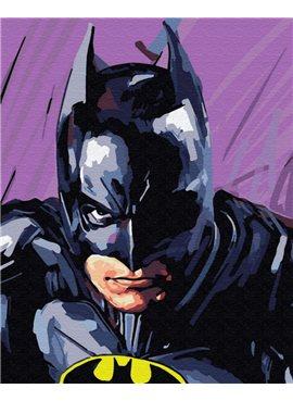 """Картина по номерам. Brushme """"Бэтмен"""" GX8732 40*50"""