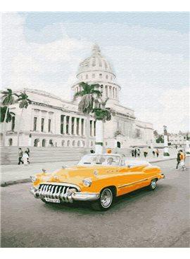 "Картина по номерам. Brushme ""Кубинское ретро"" GX28889 40*50"