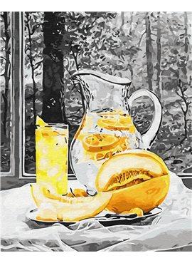 """Картина по номерам. Brushme """"Лимонад"""" GX29751 40*50"""