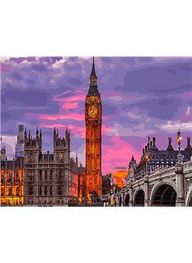 """Картина по номерам. Brushme """"Лондон на закате"""" GX29764 40*50"""