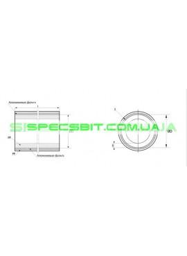 Труба армированная алюминиевой фольгой PPRC Ø40х7.1Firat