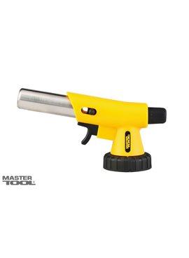 Горелка для газового баллона с пьезоподжигом Вихрь, керамическая защита, 1400*С MasterTool 44-5035
