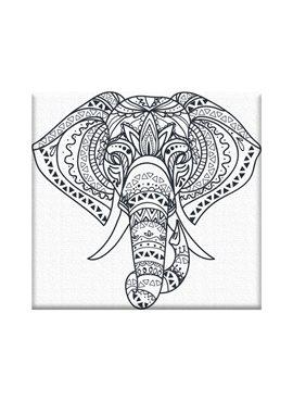 """Картина по номерам """"Слонёнок"""" 20*20 см AR10 ArtStory"""