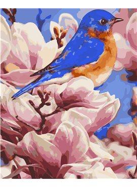 "Картина по номерам ""Яркая птичка"" 40*50 см AS0279 ArtStory"