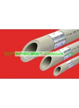 Труба STABI с алюминиевой вставкой Ø50 × 7.4FV Plast