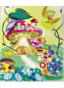 """Раскраска по номерам для детей """"Волшебный домик"""" 25*30 см 7111 Идейка"""
