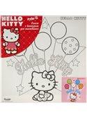 """Раскраска по номерам для детей """"Hello Kitty на празднике"""" 25*25 см HK14217K WUNDER KITE"""