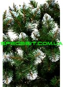 Елка искусственная ПВХ Снежинка 2,0м (200см) конусный, белый кончик