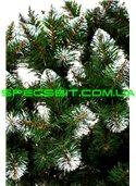 Елка искусственная ПВХ Снежинка 2,2м (220см) конусный, белый кончик