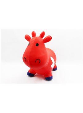 Прыгун резиновый M01360 корова Бетси M01360Red