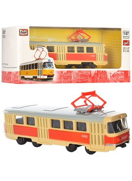 RUS Модель трамвай PLAY SMART 6411 A/B/C/D 6411A