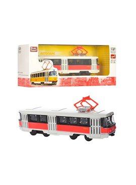 RUS Модель трамвай PLAY SMART 6411 A/B/C/D 6411D