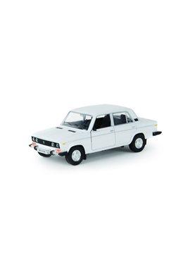 Металическая машинка 2106 Автопром белая 2106w