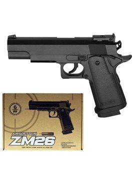 Пистолет CYMA ZM26 с пульками,метал. CYMA ZM26