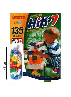 """Конструктор 70941 """"НИК-7"""" ЮНИКА 70941"""