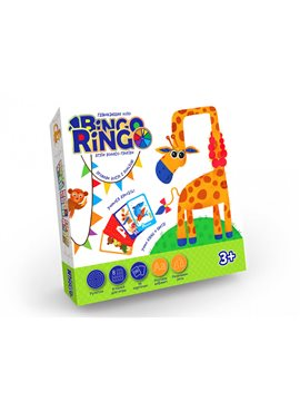 """Настольная игра """"Bingo Ringo"""" рус. GBR-01-01 Danko Toys GBR-01-01"""