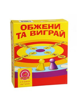 Настольная игра Arial Обжени та виграй укр. 910381 Arial 910381
