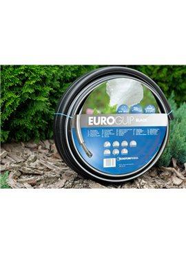 Шланг садовый Tecnotubi Euro Guip Black для полива диаметр 3/4 дюйма, длина 25 м (EGB 3/4 25)