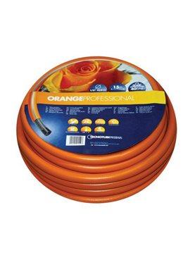 Шланг садовый Tecnotubi Orange Professional для полива диаметр 5/8 дюйма, длина 15 м (OR 5/8 15)