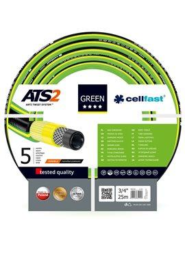 Шланг садовый Cellfast Green ATS2 для полива диаметр 3/4 дюйма, длина 25 м (GR 3/4 25)