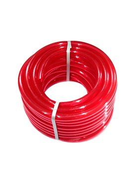 Шланг поливочный Presto-PS силикон садовый Caramel (красный) диаметр 3/4 дюйма, длина 50 м (SE-3/4 50)